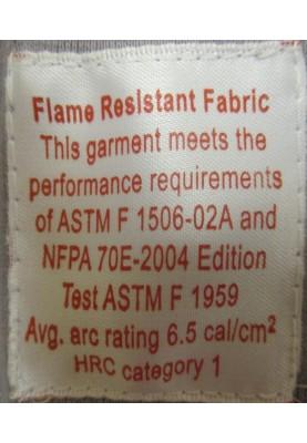 Flame Retardant Long Sleeve