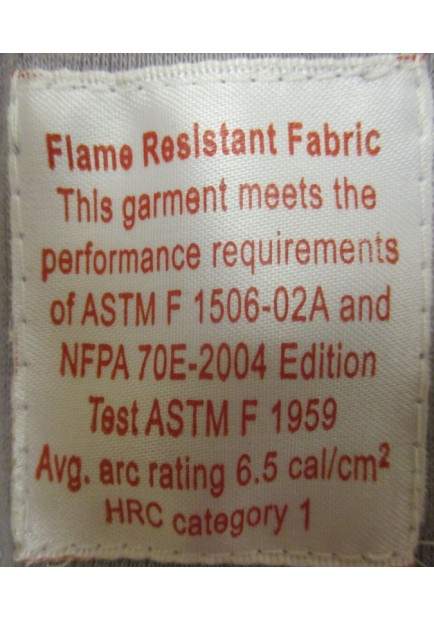 Flame Retardant Long Sleeve